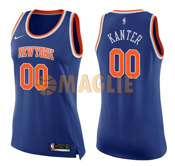 New maglia canotte York Nba Outlet Maglie Basket Knicks Donna FKlcJT1