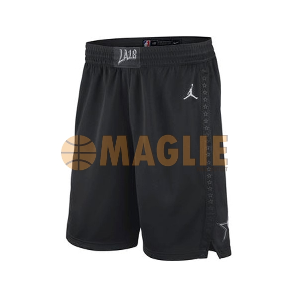 Acquista Sconto Pantaloni Basket 2018 All Star Nero