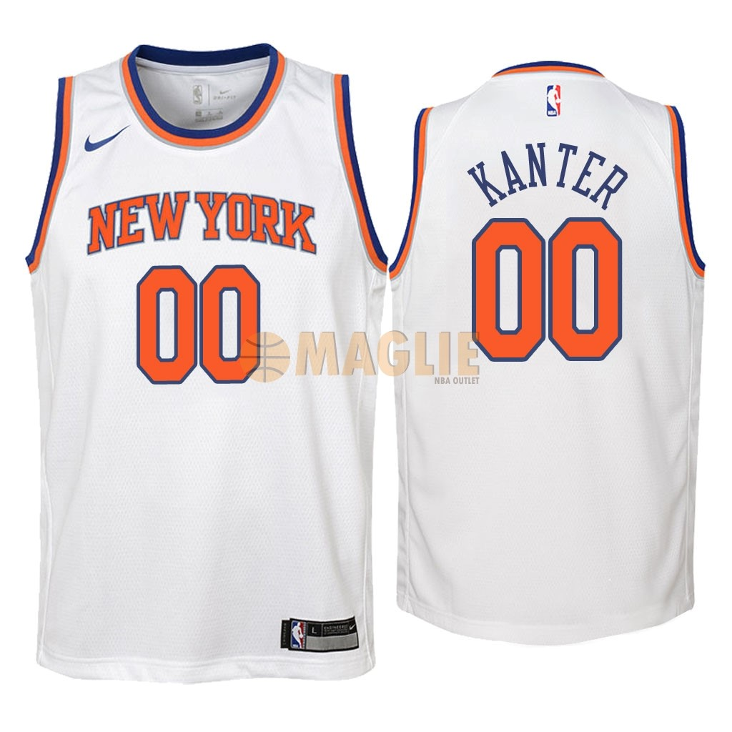 Basket canotte York Nba Outlet Bambino Maglie maglia New Knicks H2WE9IYD