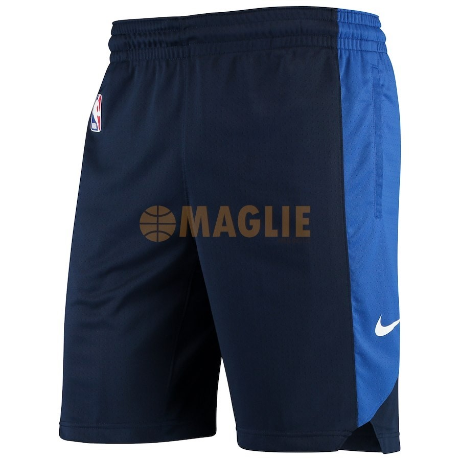 Acquista Sconto Pantaloni Basket Dallas Mavericks Nike Marino 2018