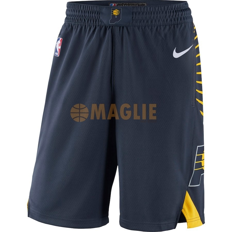 Acquista Sconto Pantaloni Basket Indiana Pacers Nike Marino Icon 2018-19