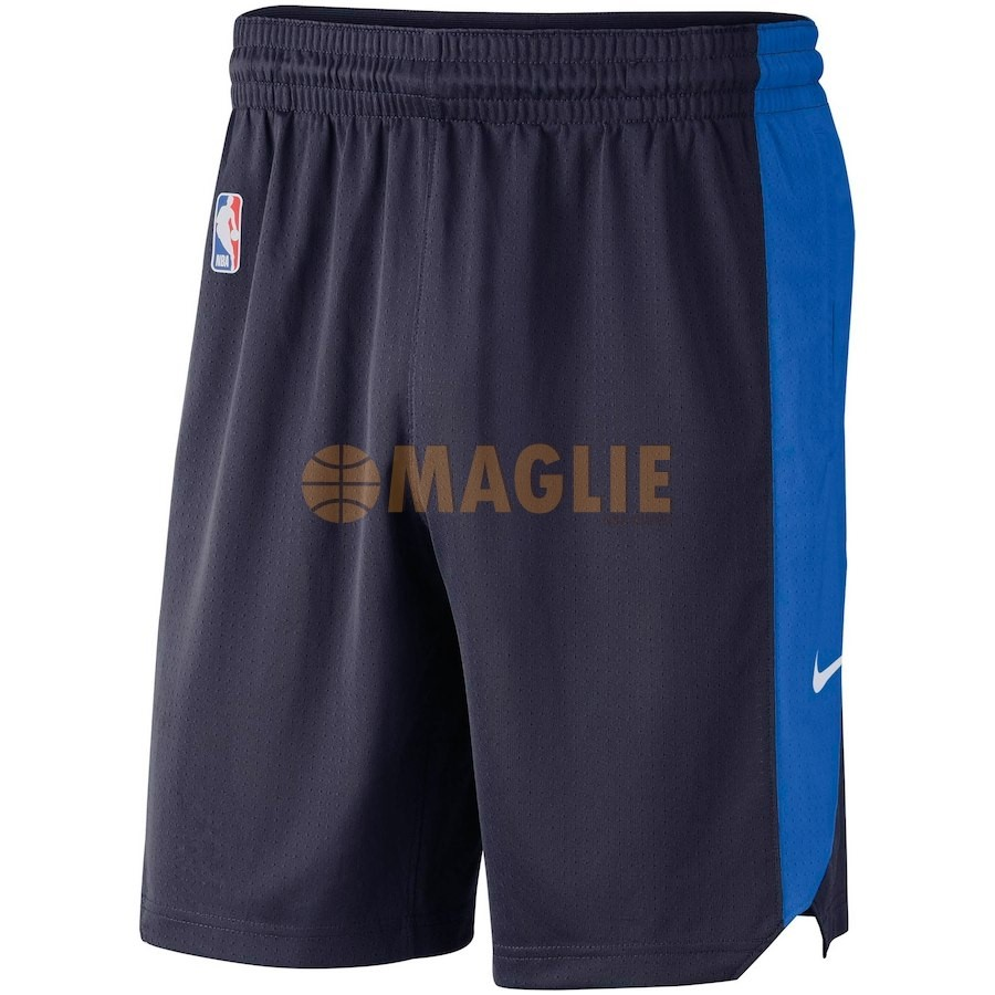 Acquista Sconto Pantaloni Basket Oklahoma City Thunder Nike Marino 2018