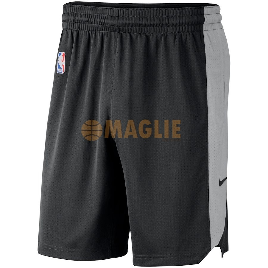 Acquista Sconto Pantaloni Basket San Antonio Spurs Nike Nero 2018