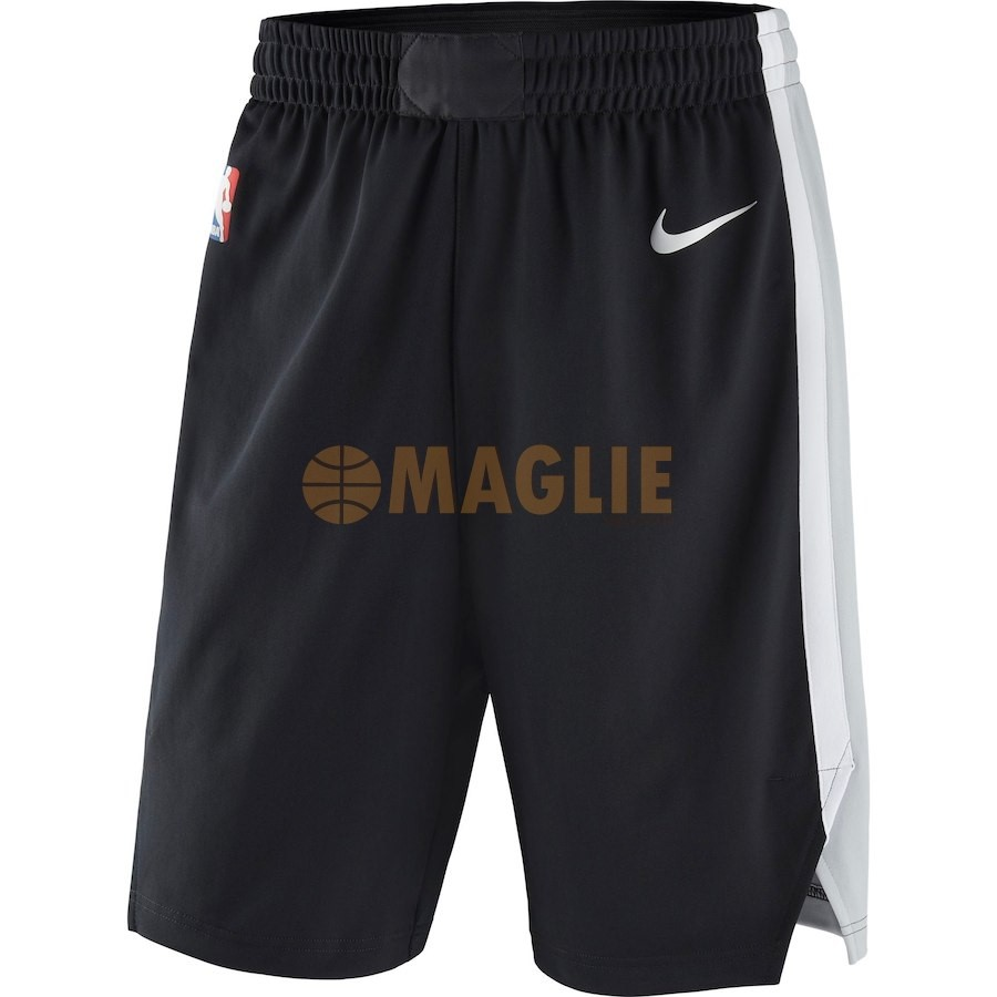 Acquista Sconto Pantaloni Basket San Antonio Spurs Nike Nero Icon 2018