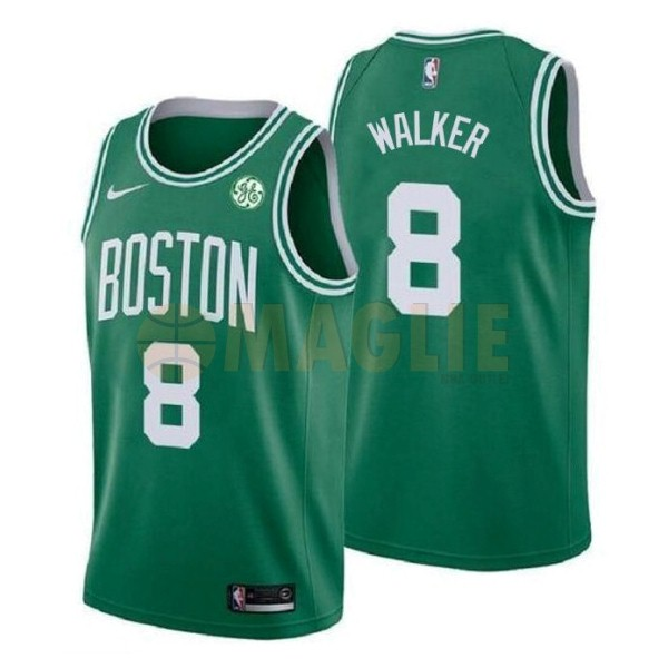 Acquista Sconto Maglia NBA Nike Boston Celtics NO.8 Kemba Walker Verde 2019-20