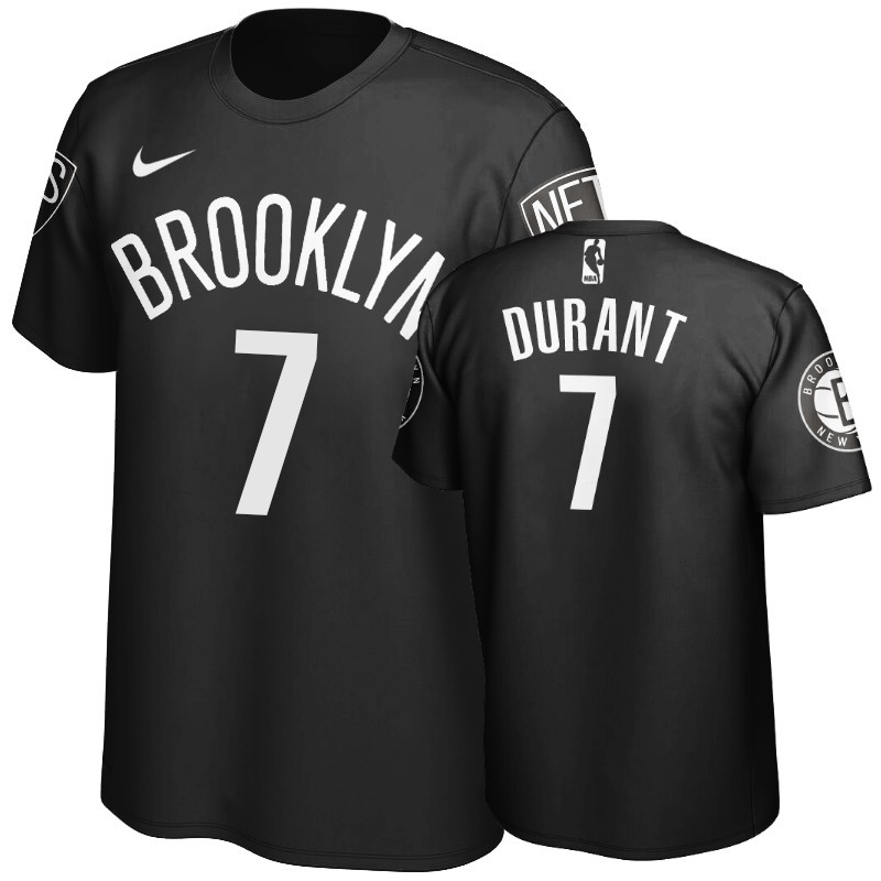 Acquista Sconto T-Shirt Brooklyn Nets Kevin Durant Nero