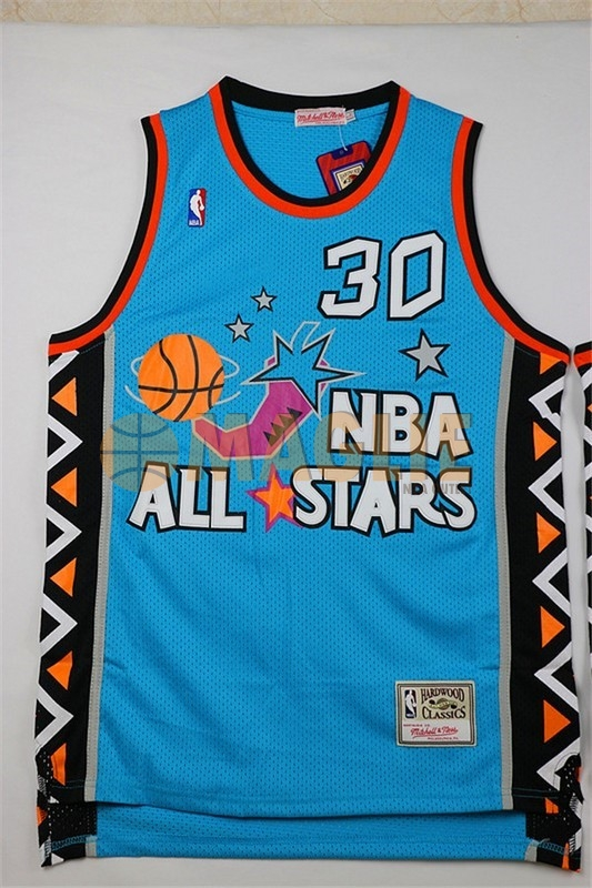 Acquista Sconto Maglia NBA 1996 All Star NO.30 Scottie Pippen Blu