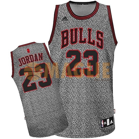 Acquista Sconto Maglia NBA 2013 Fashion Statico Chicago Bulls NO.23 Jordan