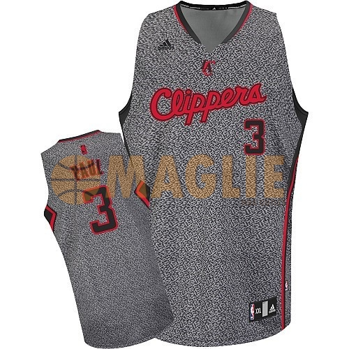 Acquista Sconto Maglia NBA 2013 Fashion Statico Los Angeles Clippers NO.3 Chris Paul