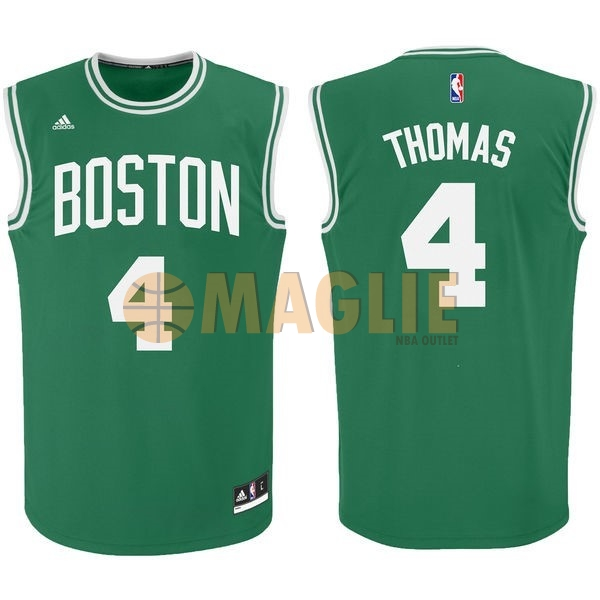 Acquista Sconto Maglia NBA Boston Celtics No.4 Isaiah Thomas Verde