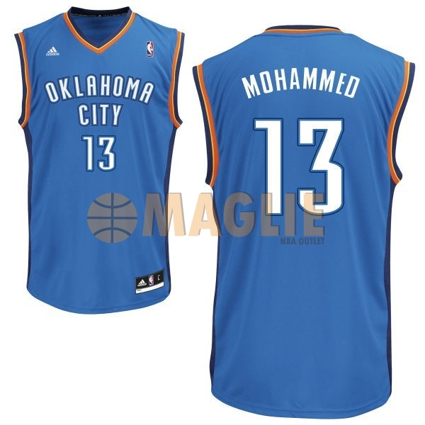 Acquista Sconto Maglia NBA Oklahoma City Thunder NO.13 James Harden Blu