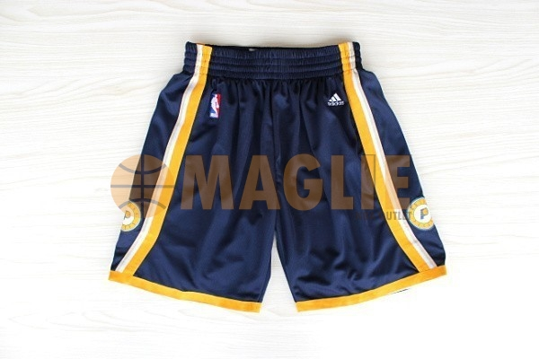 Acquista Sconto Pantaloni Basket Indiana Pacers Nero