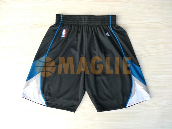 Acquista Sconto Pantaloni Basket Minnesota Timberwolves Nero