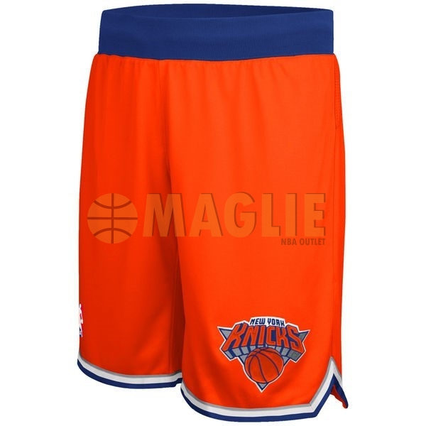 Acquista Sconto Pantaloni Basket New York Knicks Arancia 9da4d83f1f00