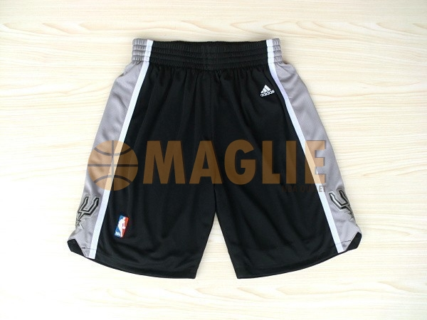 Acquista Sconto Pantaloni Basket San Antonio Spurs Nero